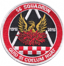 No. 56 (R) Squadron Royal Air Force RAF Centenary 2016 Embroidered Patch